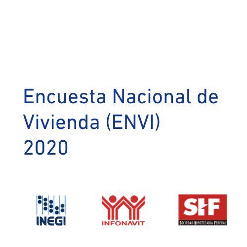 INEGI, INFONAVIT y SHF presentan resultados de la Encuesta Nacional de Vivienda 2020